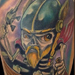 Tattoos - Fishing Skeleton Viking - 71512